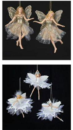 Fairy Christmas Ornaments.Katherine S Collection Snowflake Fairy Yule Christmas