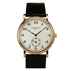 PATEK PHILIPPE Rose Gold Officer's Wristwatch Ref 5022R