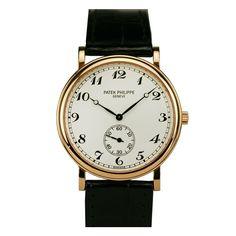 PATEK PHILIPPE Rose Gold Officer's Wristwatch Ref 5022R