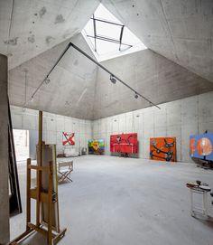Vallvidrera (Barcelona), Spain Estudio para el pintor Arranz-Bravo Garcés · De Seta · Bonet Arquitectes