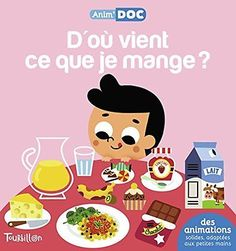 D'OU VIENT CE QUE JE MANGE ? Sandra Laboucarie Tourbillon Tiago Amerigo 10 pages Venus, Tourbillon, Animation, Books, Character, Eat, Food, Bebe, Kitchens
