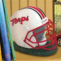 Maryland Terrapins Helmet Bank