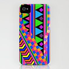 NEON iphone case by Bianca Green