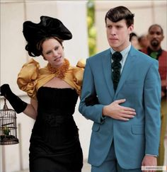 Capitol City costumes Hunger Games