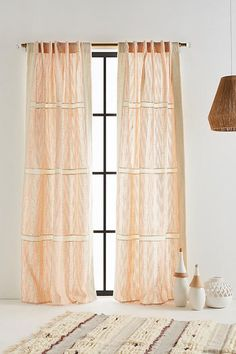Slide View: 1: Embroidered Dierdre Curtain