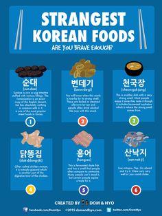Strangest Korean Foods Are You Brave Enough?