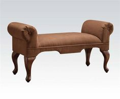 Shop Acme Furniture Aston Chocolate Rolled Arms Bench with great price, The Classy Home Furniture has the best selection of Benches to choose from Acme Furniture, Living Room Furniture, Chocolate Roll, Vanity Stool, Dining Bench, Couch, Wood, Arms, Collections