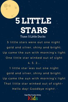 A great rhyme for outer space themes and nighttime themes! It works wonderfully with scarves, too. Head over the the, Space Activities For Kids, Space Theme Preschool, Preschool Music, Space Songs For Kids, Space Theme For Toddlers, Outer Space Crafts For Kids, Space Theme Classroom, Songs For Toddlers, Kids Songs
