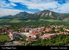 University of Colorado #FLVS #campus #Colorado