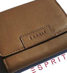 ESPRIT (Germany) - značková peňaženka - dámska - kožená (trifold) Continental Wallet, Germany, Card Holder, Cards, Maps, Deutsch, Playing Cards