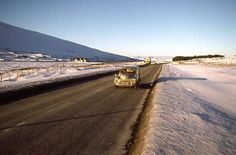 The A9 at Drumochter Pass. (1978) Picture: Alan Reid