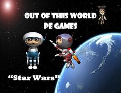Star Wars - physical education game - Out of this World PE Games!