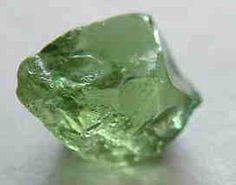 Crystals & Stones:  Green #Garnet.