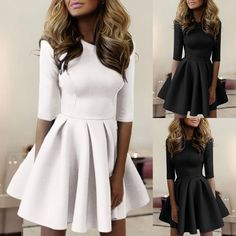 c0205aa7dd43 Women Trendy Half Sleeve Ruched Casual Dress