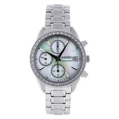 Đồng hồ nữ Seiko Women's SNDY21 Stainless Steel   Giá bán: 4.237.500 VNĐ  http://www.e24h.vn/buy/dong-ho-nu-seiko-womens-sndy21-stainless-steel-analog-with-mother-of-pearl-dial-watch.html