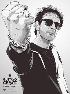 Gustavo Cerati Soda Stereo, Rock Argentino, El Rock And Roll, Music Pics, Rock Legends, Cinema, Cultura Pop, Concert Posters, Rock Music