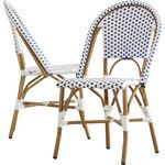 Del Mar Stacking Dining Side Chair (Set of 2)