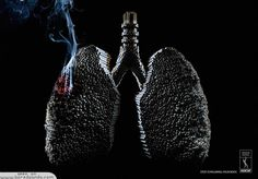 Whats your lungs made of? klo iklannya gini sih.....