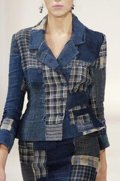 Denim ideas - Ralph Lauren at New York Fashion Week Spring 2006 – Denim ideas Amo Jeans, Estilo Jeans, Denim Maxi Dress, Denim Outfit, Denim And Lace, Denim Top, Elisa Cavaletti, Ralph Lauren, Denim Ideas