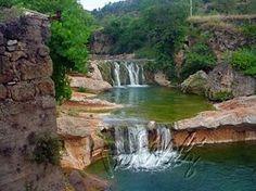 Entorno de Beceite, pueblo de Teruel