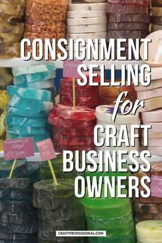 Consignment selling tips for craft business owners. Learn what to expect when you sell your handmade items on consignment, so you can negotiate a fair sales agreement. #craftbusiness #consignment #craftprofessional Selling Crafts Online, Craft Online, Craft Business, Creative Business, Business Ideas, Where To Sell, Selling Handmade Items, Small Business Marketing, Craft Sale