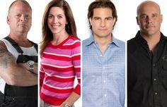 "New shows start September on HGTV Canada! ""Bryan, Mike, Sarah & Scott: New Shows, New Episodes, New Season! Bryan Baeumler, Scott Mcgillivray, Mike Holmes, Moving To Canada, Sarah Richardson, Sounds Good To Me, New Shows, Hgtv"