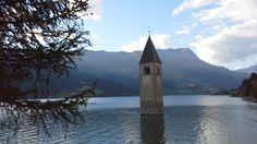 Resia Lake, Italy