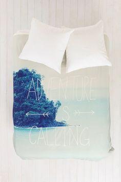 Leah Flores For DENY Adventure Island Duvet Cover-- Love it!