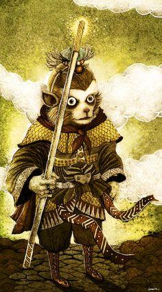 Monkey King by *berkozturk on deviantART