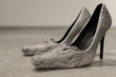 Crocodile Shoes Photo