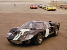 Oh Lord, won't you buy me a Ford GT 40...
