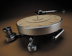 The Optimal 4 turntable from MG Hi-Fi.