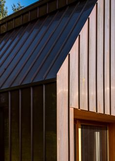The materials palette was chosen to help the building blend with the landscape as much as possible. Aarhus, Hopkins Architects, Wood Supply, The Door Is Open, Nature Color Palette, Getaway Cabins, Forest Floor, Architect House, Cabin Design