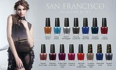 OPI San Francisco Collection- Fall 2013. So excited!