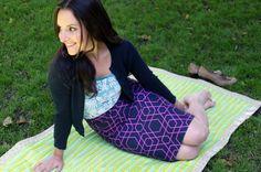 Make Your Own Fold-Up Picnic Blanket! | Brit + Co.