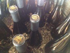 Envoy Chardonnay on ice at the Sun Valley Wine Auction