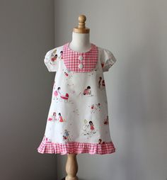 Spring Dress by pit pat waddle pat on etsy