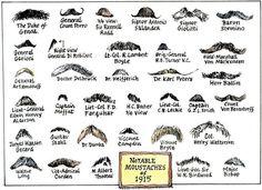 Beards & mustache