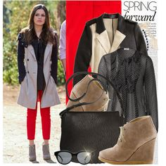 """Rachel Bilson - """"Hart of Dixie"""" Love Fashion, Fashion Looks, Red Skinny Jeans, Hart Of Dixie, Rachel Bilson, Eclectic Style, Fall Winter Outfits, Stylish Outfits, Celebrity Style"""
