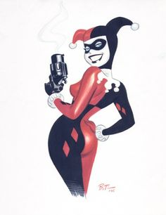 Harley by Bruce Timm.