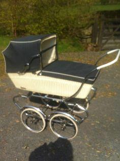 Retro vintage antique baby pram 'Superia'..... i WANT!