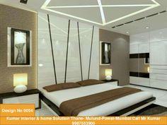 Kumar Interior & home Solution Thane- Mulund-Powai-Mumbai Call Mr Kumar 9987553900 Design No 0054 Bedroom Door Design, Bedroom False Ceiling Design, Luxury Bedroom Design, Small Bedroom Designs, Bedroom Furniture Design, Bed Designs, Furniture Ideas, Luxurious Bedrooms, Luxury Bedrooms