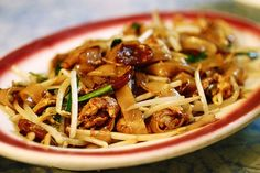 Char key teow Probably the best thing I ate in Malaysia was a late-night snack of char kuey teow—frankly, I can't imagine anything tasting better than rice noodles stir-fried in seconds over a smoking, sparking charcoal fire, taken to go and inhaled from a little paper parcel while walking down the street in Penang. The noodles join soy, chili, prawns, often cockles, the shrimp paste belacan, bean sprouts, and egg. Two things can distinguish really good char kuey teow from that which is…
