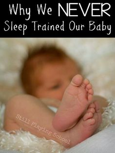 Why We Don't Sleep Train or Cry It Out from Still Playing School