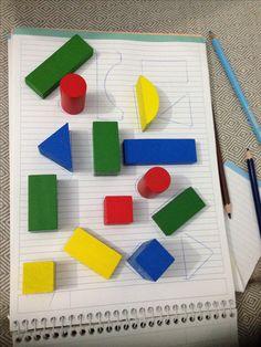 Bloklarla hem şekil hem renk eşleştirme