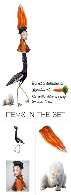 """Dedication set / @madcarrot"" by dawn-lindenberg ❤ liked on Polyvore featuring art"