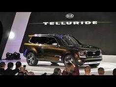 2016 Kia Telluride SUV Concept - YouTube