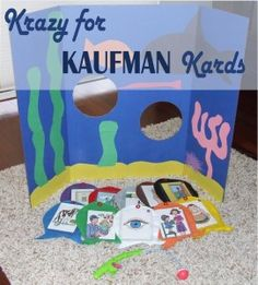 First in a Series - Apraxia Speech Therapy using Kaufman Cards. Creative uses for K-SLP cards to keep your little one's therapy on track and entertaining.