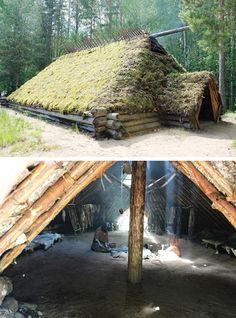 Survival Shelter, Survival Tools, Wilderness Survival, Survival Prepping, Bushcraft Camping, Camping Survival, Outdoor Survival, Viking Village, Viking Life