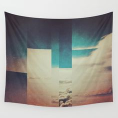 Fractions A27 Wall Tapestry. #abstract #landscape #photography #digital